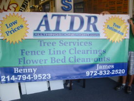 Overnight Banners – 18oz 5.00sf