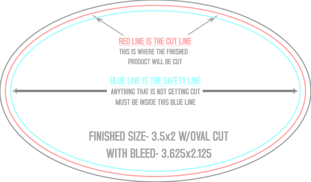 "3""x2.5"" Round Sticker Template"