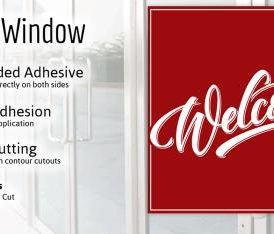 SINGLE VIEW WINDOW GRAPHICS – 1 Side Print