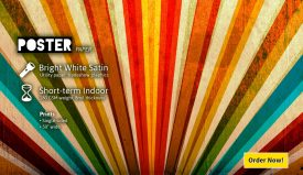 Overnight Posters – 8mil Bright White Satin – 4.00sf