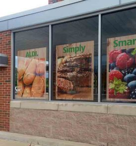 Adhesive Window Perforated Vinyl – Autos – Store Fronts
