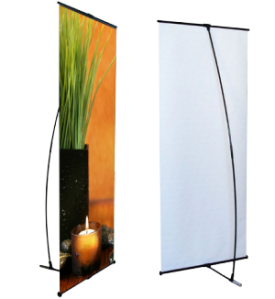 L Frame Banners
