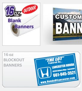 16oz Banners